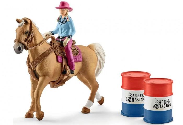 Картинка для Schleich Женщина-ковбой с лошадью и аксессуарами 18.9 см