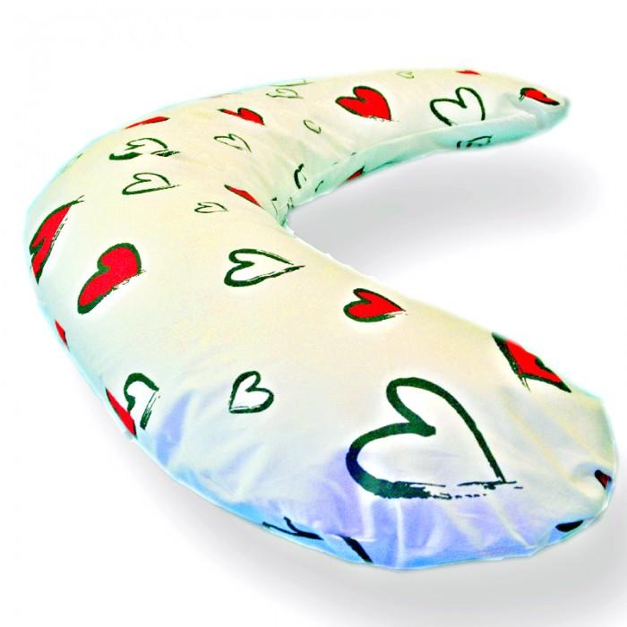 Купить Подушки для беременных, БиоСон Подушка для беременных сердце 170х30 холоффайбер