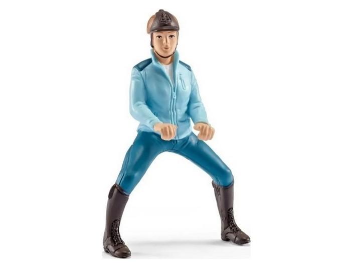 Купить Игровые фигурки, Schleich Наездница в голубом костюме
