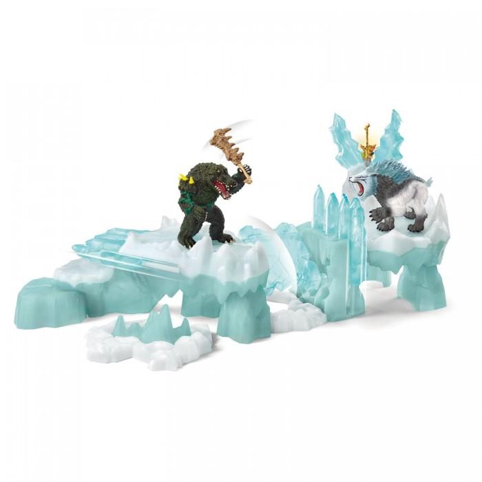 Купить Игровые наборы, Schleich Нападение на ледяную крепость