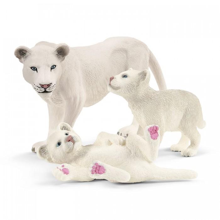 Купить Игровые фигурки, Schleich Львица со львятами