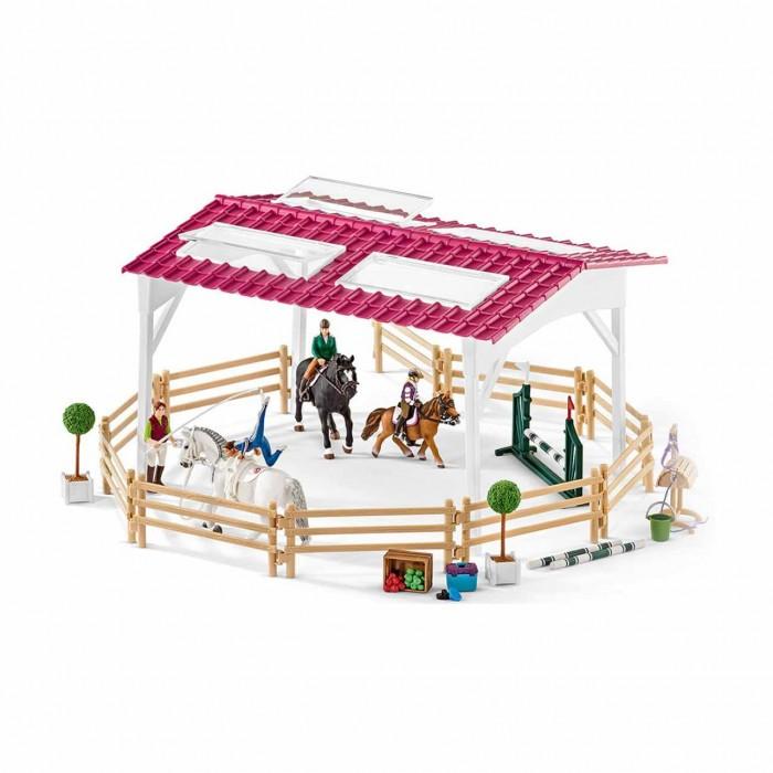 Картинка для Schleich Школа верховой езды с лошадьми и наездниками