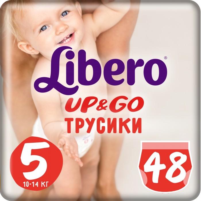 Подгузники Libero Подгузники-трусики Up&Go Mega Pack (10-14 кг) 48 шт.