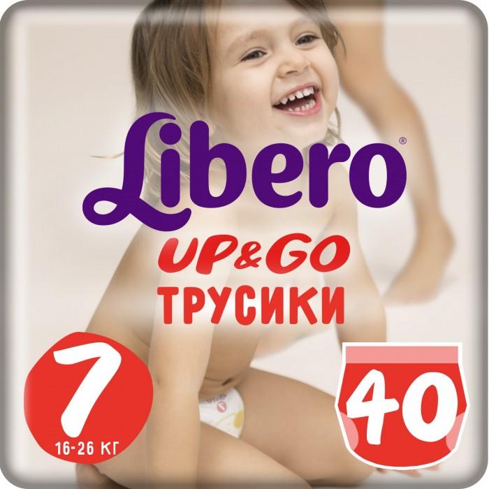 Libero Подгузники-трусики Up&Go Size 7 (16-26кг), 40 шт.