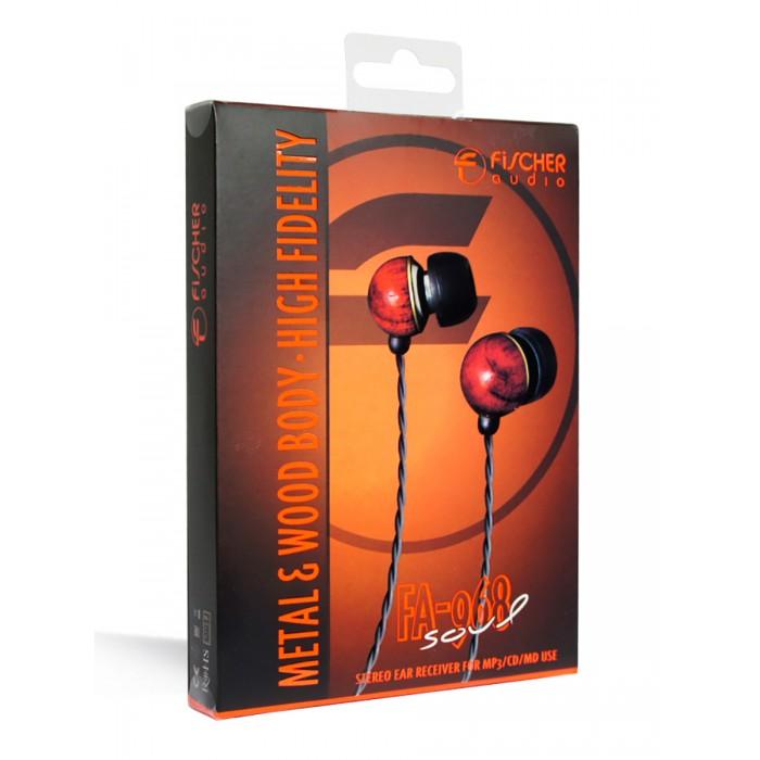 Колонки, наушники, CD-проигрыватели Fischer Audio Наушники FA-968 Soul наушники затычки fischer audio fa 792