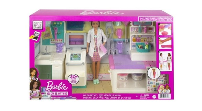Куклы и одежда для кукол Barbie Набор игровой Клиника
