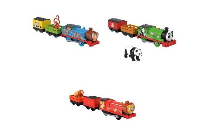 Купить Железные дороги, Thomas & Friends Моторизированные паровозики Герои мультфильмов в масках с животными