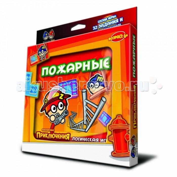 Настольные игры Mack&Zack Магнитная игра Пожарные магнитная игра развивающие mack