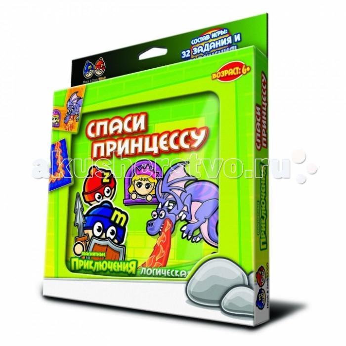 Настольные игры Mack&Zack Магнитная игра Спаси принцессу настольные игры mack