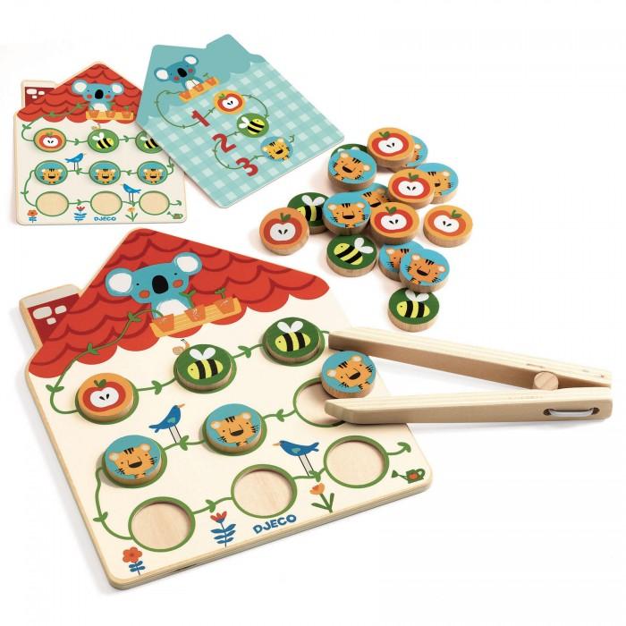 Купить Развивающие игрушки, Развивающая игрушка Djeco настольная игра Веселый счет