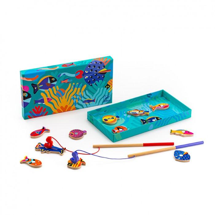 Купить Развивающие игрушки, Развивающая игрушка Djeco Магнитная рыбалка Рыбки