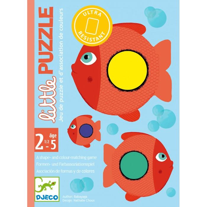 Купить Развивающие игрушки, Развивающая игрушка Djeco Детская карточная игра Пазл
