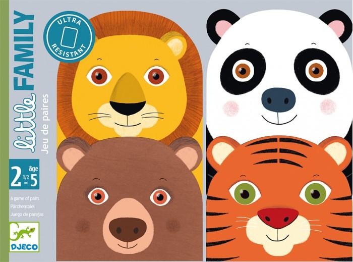 Купить Развивающие игрушки, Развивающая игрушка Djeco Детская настольная карточная игра Семейка