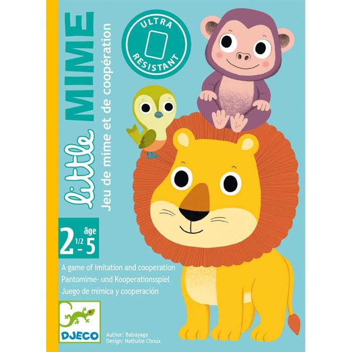 Развивающие игрушки, Развивающая игрушка Djeco Детская карточная игра Пантомима  - купить со скидкой