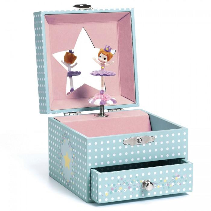 Картинка для Djeco Музыкальная шкатулка Маленькая балерина