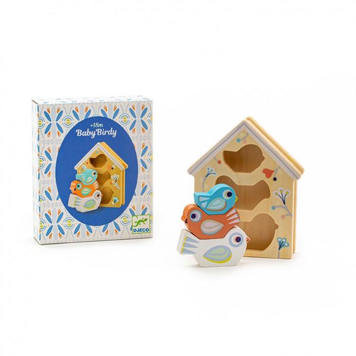 Купить Развивающие игрушки, Развивающая игрушка Djeco Сортер Птички