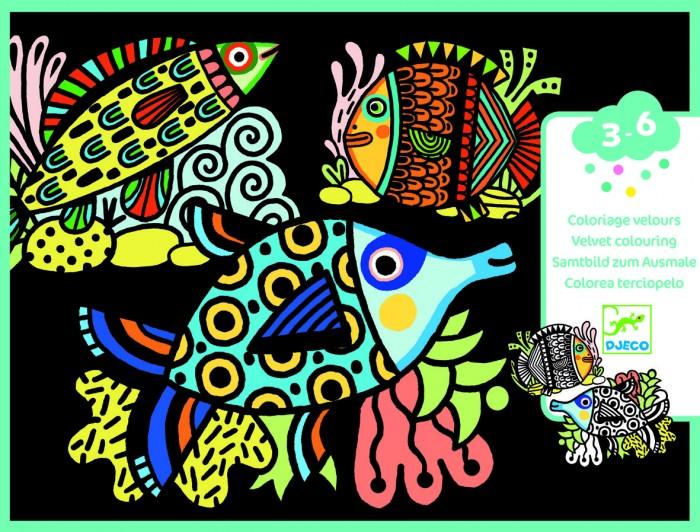 Наборы для творчества Djeco Набор для творчества Милые рыбки