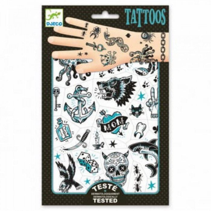Наборы для творчества Djeco Татуировки Пираты 09594