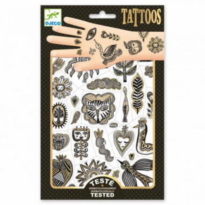 Наборы для творчества Djeco Татуировки Золото