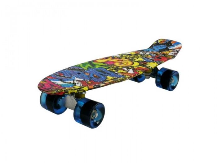 DS Скейтборд Круизер 22' Граффити