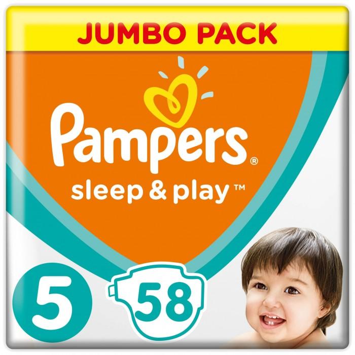 c92fe650874e Pampers Подгузники Sleep   Play Jumbo р.5 (11-16 кг) 58 шт. - Акушерство.Ru