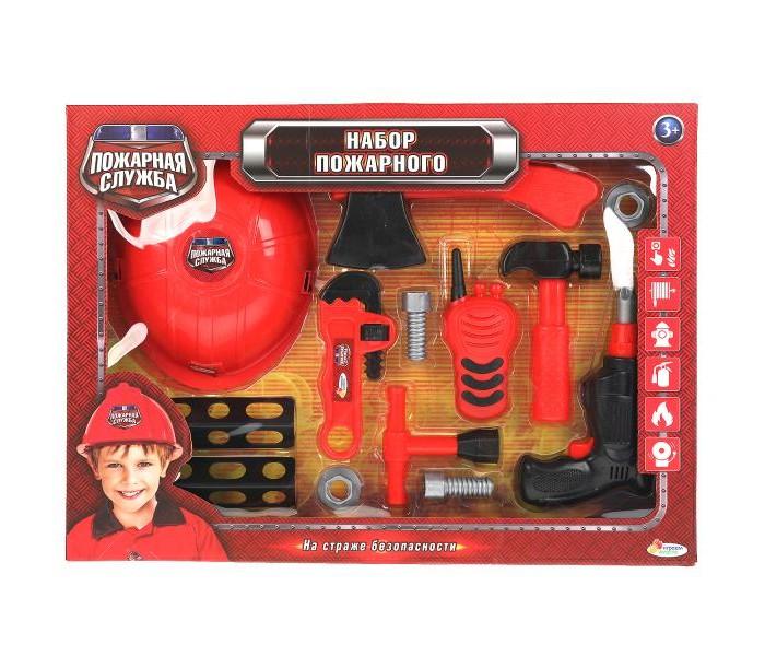 Фото - Ролевые игры Играем вместе Набор пожарного с каской ролевые игры играем вместе набор оружия полиции