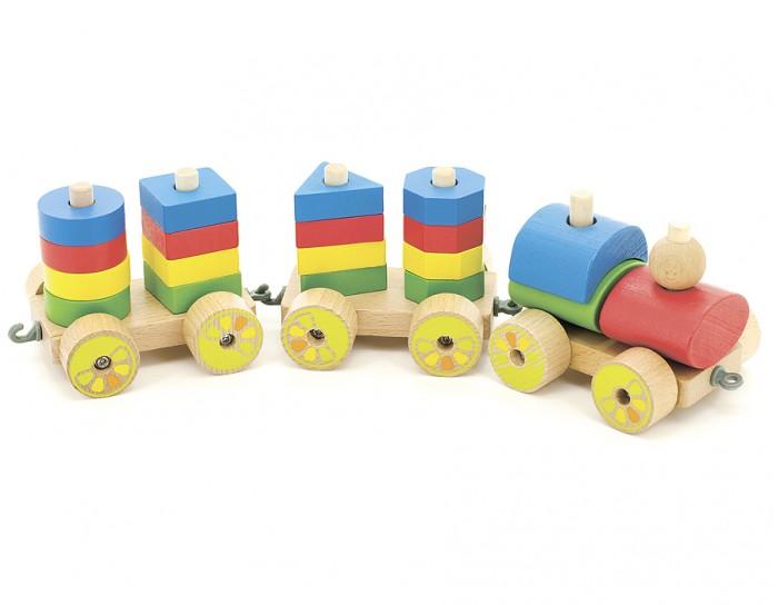 Деревянные игрушки Мир деревянных игрушек (МДИ) Паровозик паровозик д163 мир деревянных игрушек