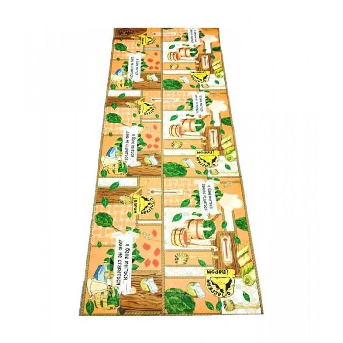 Товары для дачи и сада Бацькина баня Подстилка ковёр Скрутка В бане 150x50 см