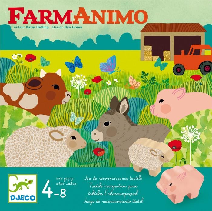 Картинка для Djeco Настольная игра ФармАнимо