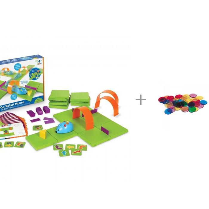 Learning Resources Игровой набор Мышиный код Делюкс и Фишки для счета Прозрачные круги