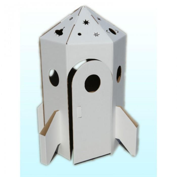 Игровые домики Балуем и Балуемся Набор из картона Ракета консультирование родителей в детском саду возрастные особенности детей