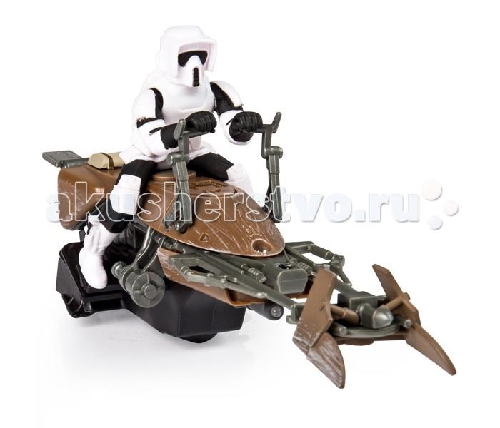 Машины Star Wars Spin Master Air Hogs Скоростной байк Звёздные войны spin master фигурка из кубиков люк скайвокер star wars
