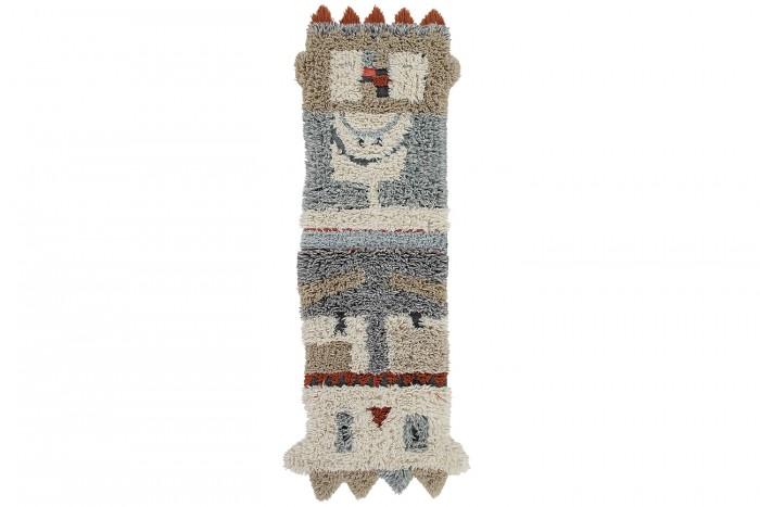 Фото - Ковры Lorena Canals Шерстяной стираемый ковер Kachina 240х90 ковры lorena canals ковер с помпонами 120d