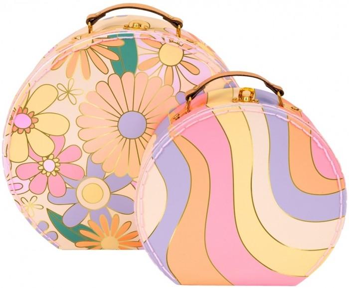 Детские чемоданы MeriMeri Набор чемоданов Цветное настроение