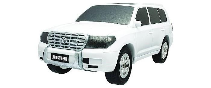 Машины Happy Well Трансформер-машина 3 в 1 Toyota Land Cruiser 1:32