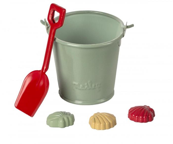 Maileg Набор для песочницы: лопатка, ведро, формочки
