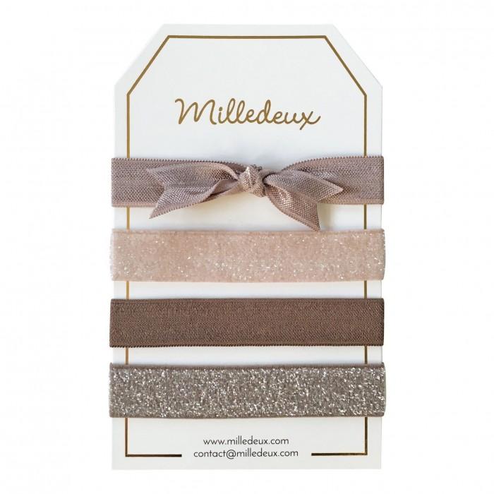 Milledeux Набор из четырех резинок для волос №11
