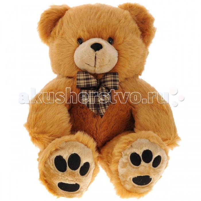 Мягкие игрушки Plush Apple Медведь с бантом 44 см plush apple 27