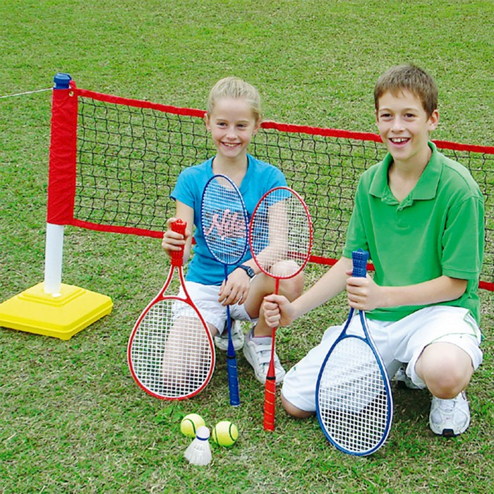 Спортивный инвентарь DFC Набор детский для игры в бадминтон и теннис GOAL228A