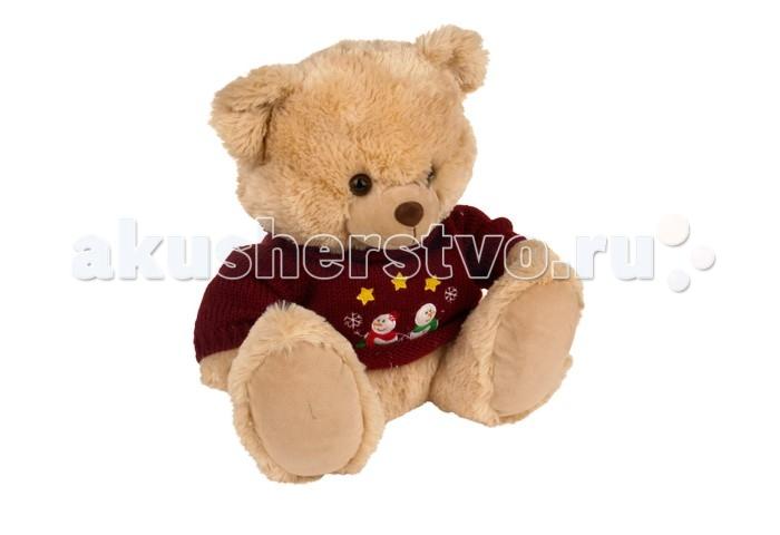 Мягкая игрушка Plush Apple Медведь в свитере 40 смМедведь в свитере 40 смМедведь в свитере 40 см.  Любимый мишка – это одна из самых желанных игрушек для детей. Мишка в Свитере (свитер можно снять) от торговой марки Plush Apple - это не только очаровательная мордашка и забавный образ, но и отменное качество изделия. Вызывает приятные тактильные ощущения.   С игрушкой можно придумать множество интересных сюжетов для игр, а также очень приятно засыпать вечером.   Игрушка изготовлена из экологически чистых материалов и не навредит ребенку.<br>