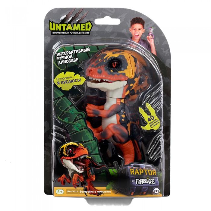 Интерактивная игрушка Fingerlings динозавр Блейз