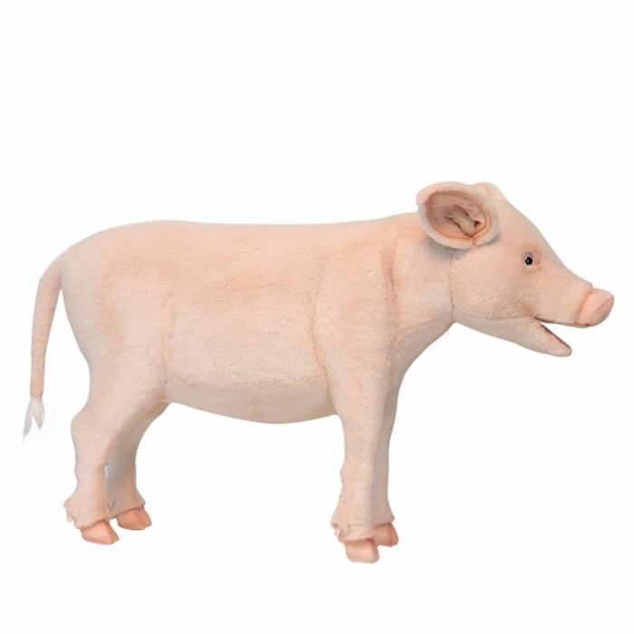 Мягкие игрушки Hansa Свинья банкетка 95 см