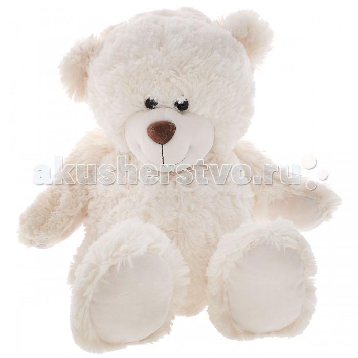 Мягкая игрушка Plush Apple Медведь Белый, поет песню Мишка 28 см