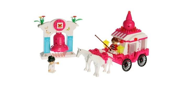 Конструкторы BanBao Лошадь с каретой 328 деталей конструкторы banbao замок 550 деталей