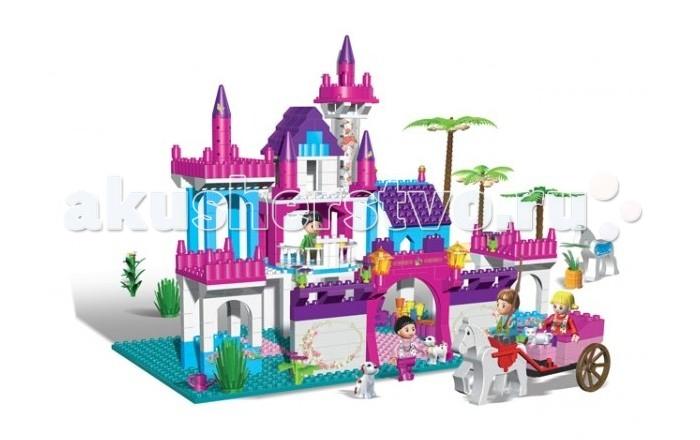 Конструктор BanBao Замок 550 деталейЗамок 550 деталейКонструктор Замок 550 деталей.  Данный игровой набор понравится любой малышке, которая сможет придумать множество разнообразных игр.   В наборе Замок 550 деталей. Конструктор рекомендован для детей старше 5 лет.<br>
