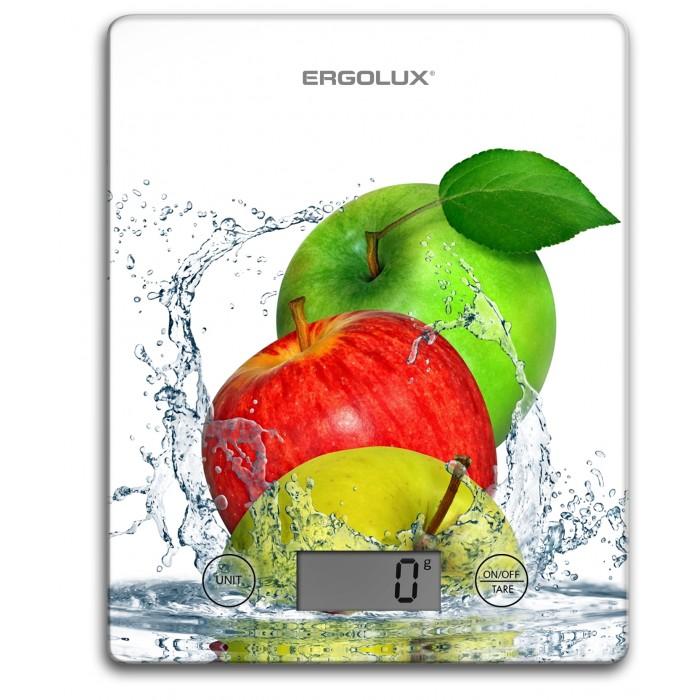 Кухонные весы Ergolux Весы кухонные Яблоки