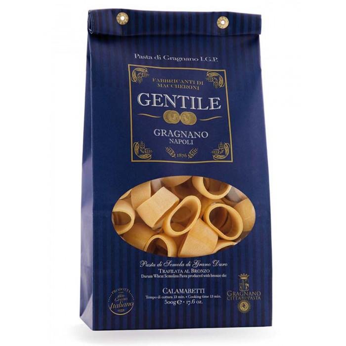Gentile Макароны премиальные из твердых сортов пшеницы Каламаретти 500 г
