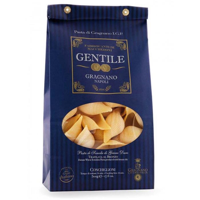 Gentile Макароны премиальные из твердых сортов пшеницы Конкильони 500 г