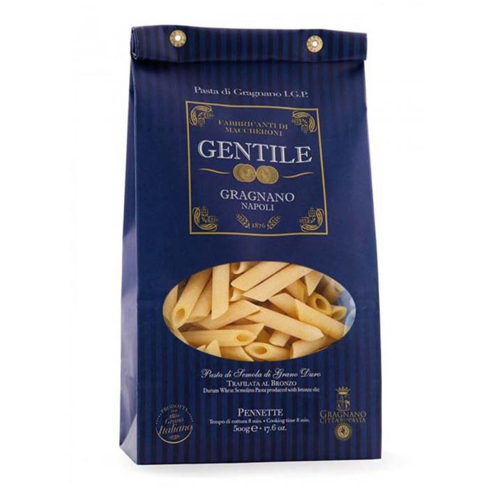 Gentile Макароны премиальные из твердых сортов пшеницы Пеннете 500 г