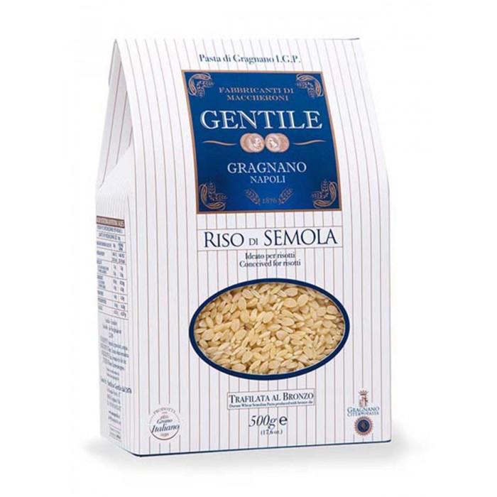 Gentile Макароны детские премиальные из твердых сортов пшеницы Ризо ди Семола 500 г